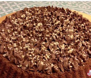 Torta Lindt con ganache alla Nutella