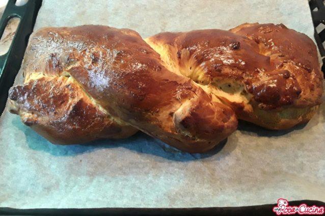 Pan brioche a treccia
