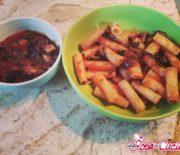 Salsa di pomodoro e melanzane