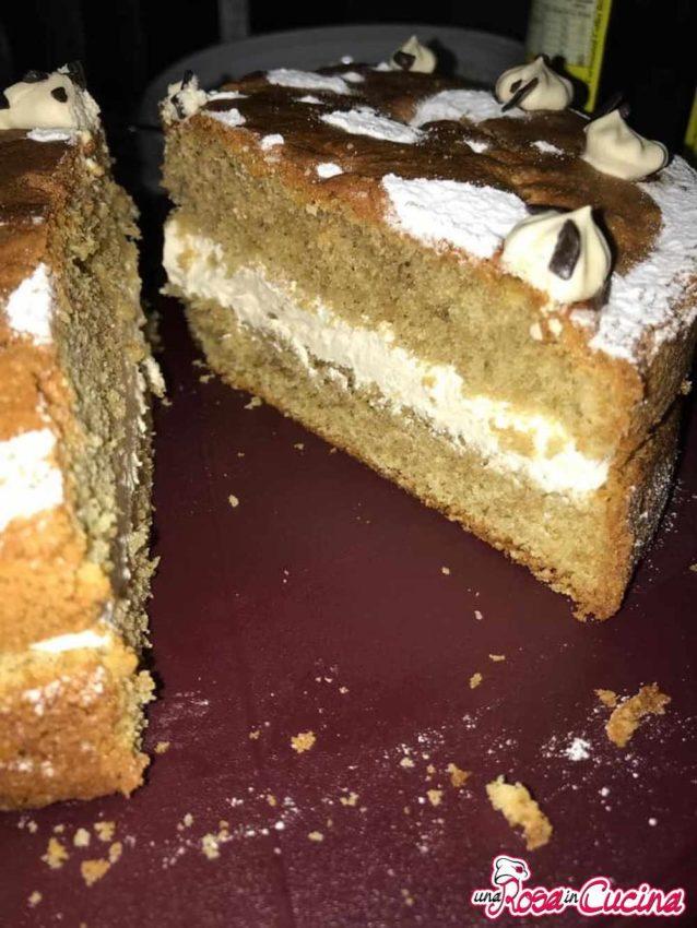 Torta moka con crema al caffè