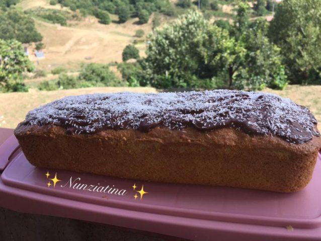 Mattonella cocco e Nutella (Bimby)