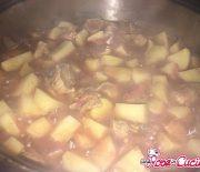 Pezzetti di manzo con patate (Bimby)