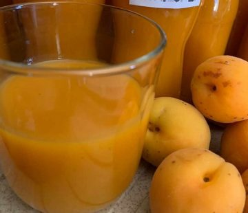 Succo di frutta all'albicocca (Bimby)