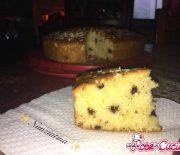 Torta golosa con gocce di cioccolato (Bimby)