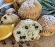 Muffin al cioccolato ed arancia