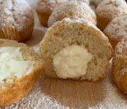 Muffin Paradiso con crema al latte