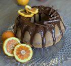 Pan d'arancio e cioccolato fondente