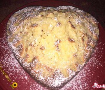 Torta cocco e ananas