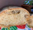 """Pane fatto in casa a lunga lievitazione (battezzato """"pane della quarantena"""")"""