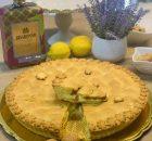 Crostata crema e amaretti