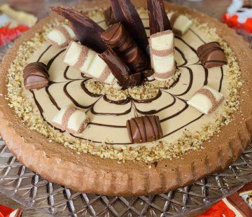 Torta Kinder Bueno biscottata
