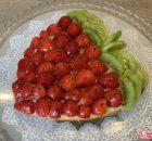 Torta alla frutta maxi fragolone