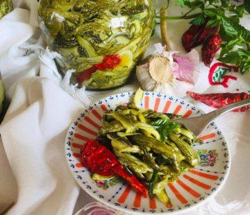 Zucchine sott'olio croccanti (ricetta tradizionale calabrese)