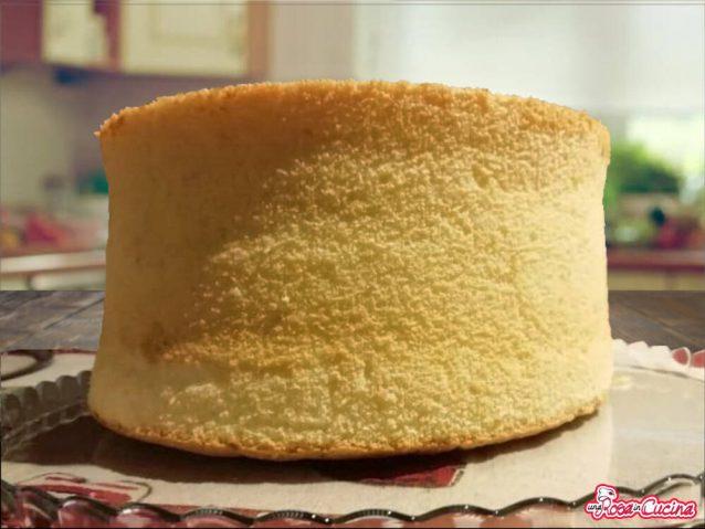 Chiffon cake al profumo di limone